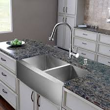 Sink With Double Faucet Double Bowl Sink U0026 Faucet Combinations