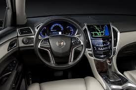 cadillac srx cue system updated cadillac srx gets rear seat cue system autotribute