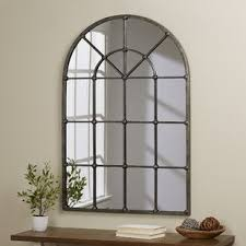 Ideas Design For Arched Window Mirror Wall Mirrors You Ll Wayfair
