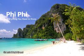 the phi phi islands are some of the loveliest in southeast asia