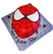 spiderman cake cakemania cake delivery order birthday