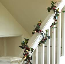 pre lit 6ft berry garland by ella