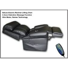 Electric Recliner Lift Chair Electric Lift Chair W Massage Function In Black Buy Recliner Chairs