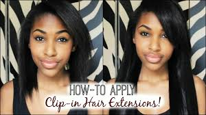 clip in hair how to apply clip in hair extensions