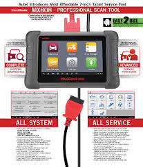 autel maxicheck mx808 all systems all service