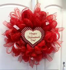 valentines day wreaths how to make a deco mesh wreath valentines mesh wreath