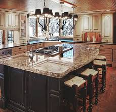 kitchen island with granite countertop shocking pleasantkitchenislandgranitecountertopideascountertops