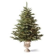 artificial christmas american pre lit decorated fiber optic