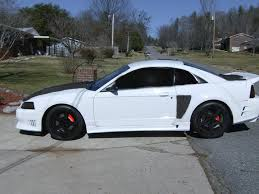 White Mustang With Black Wheels Drifting Mustang Evolution