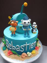 octonauts birthday cake octonauts birthday cake with fondant sea byrdie girl custom