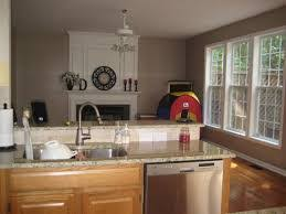 Kitchen Colors With Oak Cabinets And Black Countertops Painting Kitchen Cabinet Color Ideas Kitchen Paint Colors With Oak
