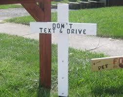 roadside memorial crosses roadside memorial etsy