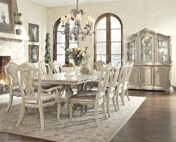 ashley dining room furniture set round kitchen table with leaf 9 piece dining set ashley furniture