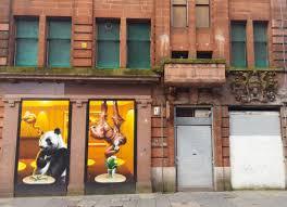 Window Wall Mural Highlands Peel Glasgow Street Art Adventures Around Scotland