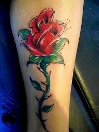 rose tattoo 2 by verartstyle on deviantart