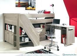 rangements bureau lit mezzanine avec bureau et rangement relooking et daccoration 2017
