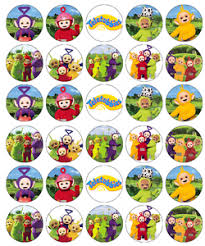 Where To Buy Edible Paper 30 X Teletubbies Cupcake Toppers Edible Wafer Paper Buy 2 Get 3rd