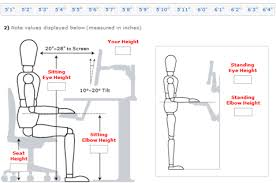 desk height for 6 2 rev your desk ultimate starter kit autonomous medium