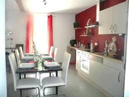 couleur murs cuisine avec meubles blancs peinture cuisine meuble blanc image cuisine avec murs et