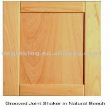 beech kitchen cabinet doors natural beech shaker solid wood cabinet door global sources