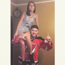 cute couple halloween costumes cute couples halloween costume stanley cup and devil u0027s hockey