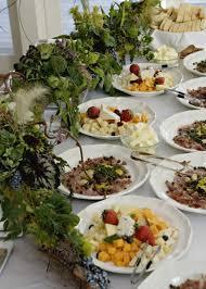 buffet table arrangements françoise weeks
