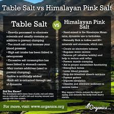 ratio kosher salt to table salt table salt vs himalayan pink salt what s the difference