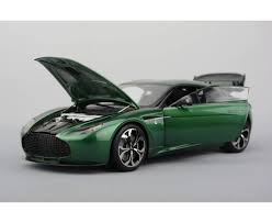 green aston martin martin v12 zagato orange green silver or champagne grey opened
