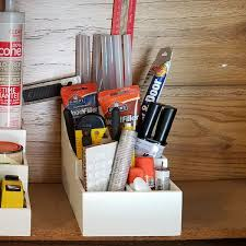 our desktop craft tool organizer is perfect for your craft room or