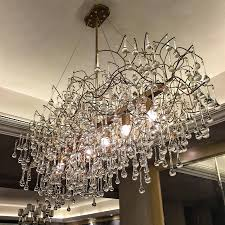 Rectangular Chandelier With Crystals Rectangular Chandelier Dining Room Rectangle Chandelier For