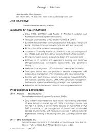 Sample Security Resume by Professional Architect Resume 5 Top Job Search Materials For