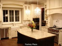 granite countertop kitchen window treatments over sink water