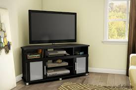 Corner Tv Cabinet For Flat Screens South Shore City Life Corner Tv Stand For Tvs Up To 50 Inches