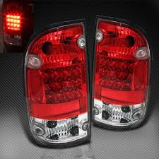 2004 tundra tail light toyota tacoma 2001 2004 red and clear led tail lights a103fh7p109