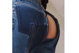 Jeans Vetements Just Debuted Jeans Which Expose Your Bum The Independent