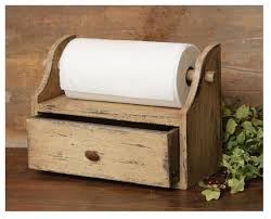 amazon com your heart u0027s delight paper towel holder with drawer