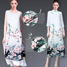 high quality silk linen dress fabric buy cheap silk linen dress