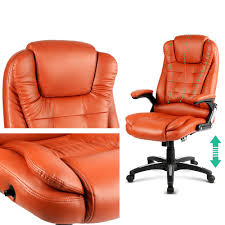 8 point heated massage office chair