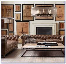 Restoration Hardware Kensington Leather Sofa Restoration Hardware Kensington Sofa Leather Sofas Home Design