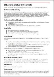 Entry Level Business Analyst Resume Sample by Data Analyst Resume Entry Level Business Analyst Resume Business