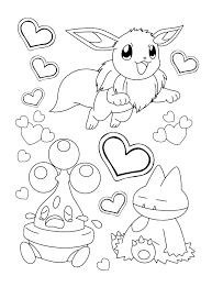 pokemon coloring pages google search pokemon coloring pages eevee evolutions all google search within