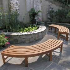Outdoor Wooden Bench Plans by Best 25 Curved Bench Ideas On Pinterest Outside Furniture Tree