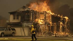 California Wildfires Global Warming by Napa Fires Diablo Winds Are Causing Destructive Wildfire In Napa