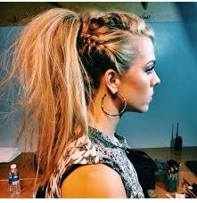 spring 2015 hairstyles pretty ponytail with braids long hairstyles for spring 2015 glam