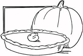 Coloring Pages Pumpkin Pie | pumpkin pie coloring page free printable coloring pages