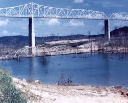 cing at table rock lake in branson mo the old kimberling city bridge on table rock lake the original is