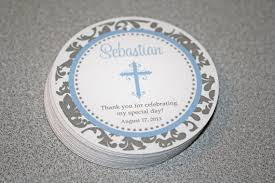 baptism favor tags boys baptism favor tags baptism gift tags communion favor
