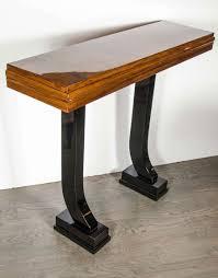 console tables 2 leg console table art deco design 2 leg console