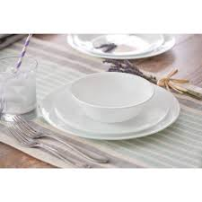 corelle livingware winter 32 dinnerware set service