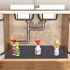 sink kitchen cabinet mat colibyou the sink mat kitchen cabinet mat waterproof absorbent protects cabinets absorbent felt material anti slip and waterproof